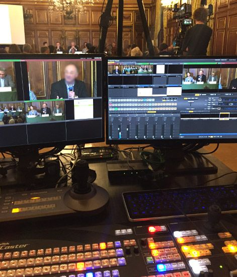 exemple tournage evenement tv en direct hd multicam realisation diffusio en streaming