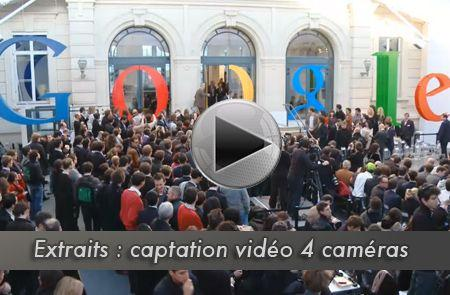 exemple de prestation de captation video et streaming live